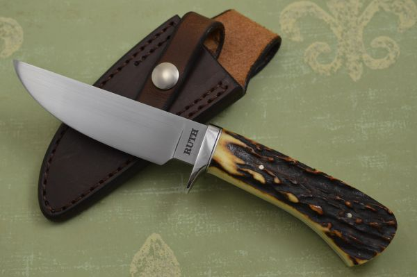 Mike Ruth, J.S. Stag Hunting Knife (SOLD)