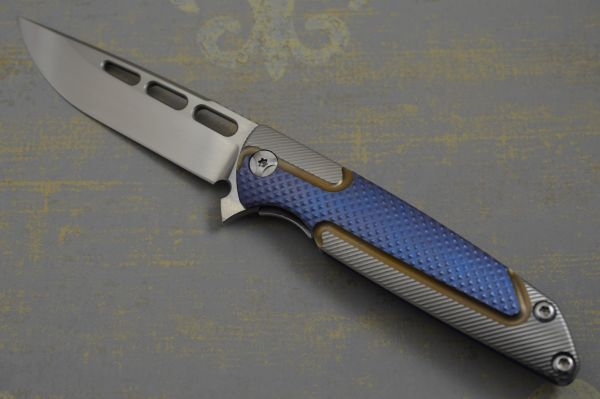 "Brian Nadeau Typhoon Flipper ""Best New Maker"" ""Best New Tactical Folder"", Blade Show 2014 (SOLD)"