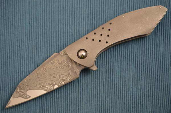 Fernando Medina Custom San Mai HELLCAT Frame-Lock Flipper