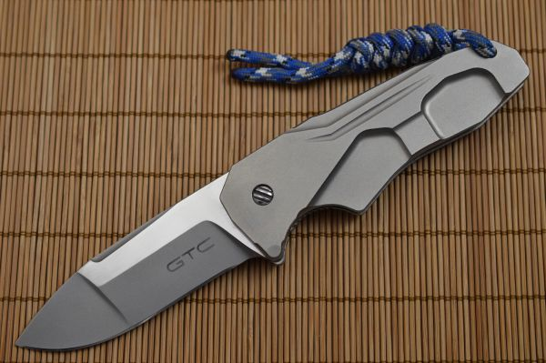 Gustavo Cecchini GTC Three Fingers Folder (3FF) Frame-Lock Flipper