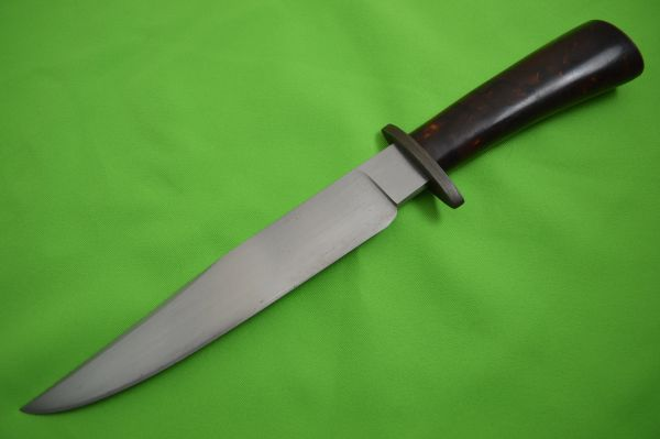 John M. Smith Custom Fixed Blade Bowie Knife (SOLD)