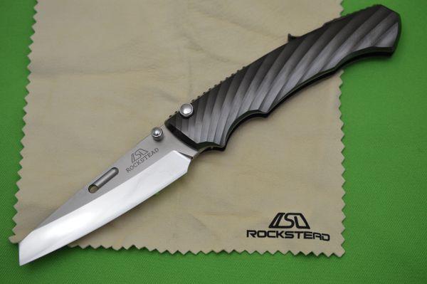 Rockstead RYO-H-ZDP, Button-Lock Folding Knife (SOLD)