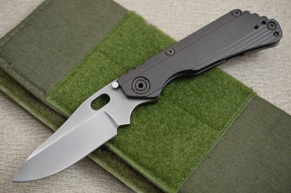Duane Dwyer Custom DDC SNG Titanium Frame-Lock Folding Knife (SOLD)