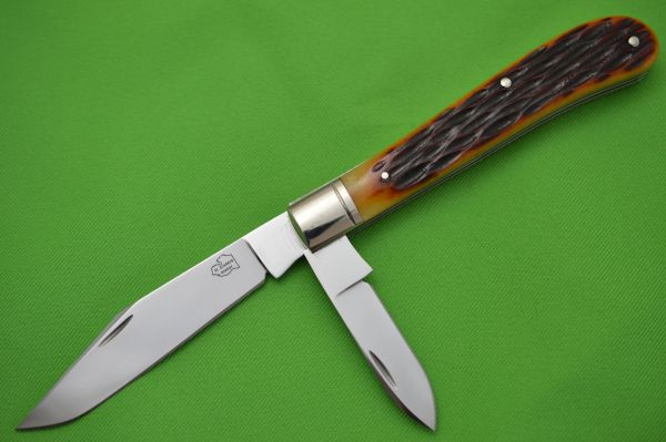 Robert Enders Two-Blade Bird & Trout, Jigged Bone, Slip-Joint Knife