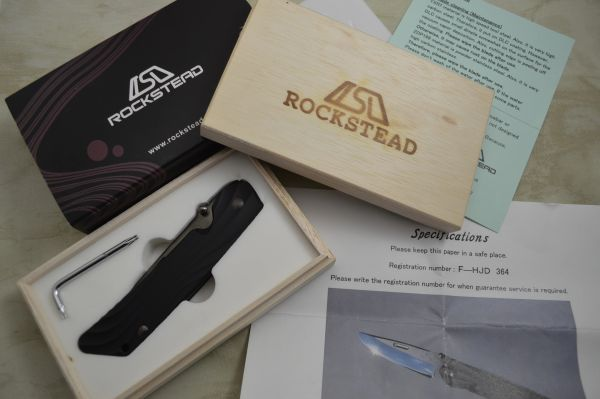 Rockstead HIGO-JHD, YXR7 Blade, Frame-Lock Folding Knife (SOLD)