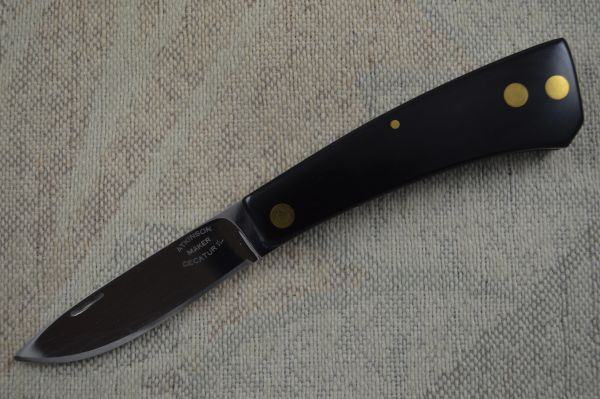 Dick Atkinson Lock Back Custom Folding Knife, Decatur, IL Mark (SOLD)