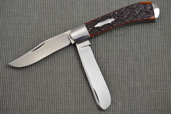 Luke Swenson Large 2-Blade Jigged Bone Trapper