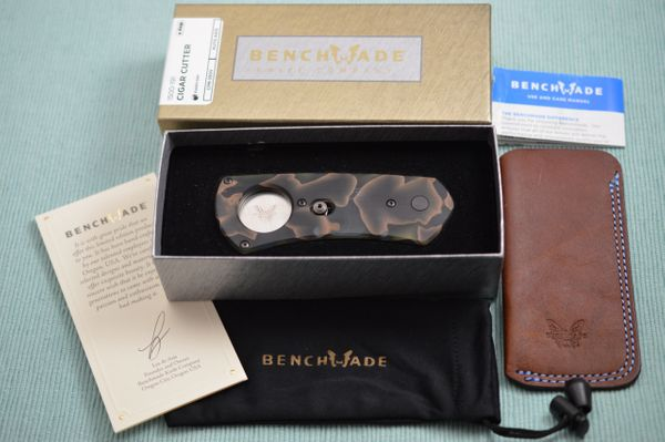 Benchmade Gold Class Cigar Cutter Auto AXIS #1500-191