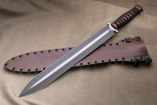 "Dawson Knives Praetorian Sword 16"" - CPM-3V Steel - Specter Finish (SOLD)"