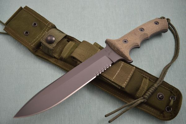 Chris Reeve - William Harsey Green Beret Fixed Blade Combat Knife (SOLD)