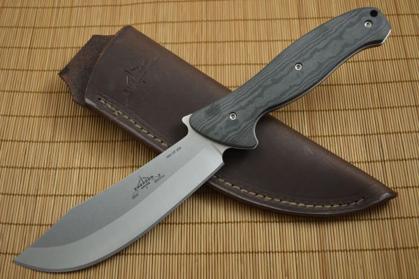 Emerson Knives CARVER-SF, Signature Series Fixed Blade Knife, Richlite Handles