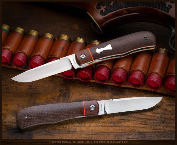 Tom Ploppert Prototype Front Flipper Liner-Lock Folding Knife (SOLD)