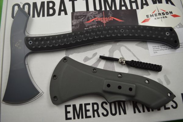 Emerson Knives Combat Tomahawk with Spike, Kydex Sheath