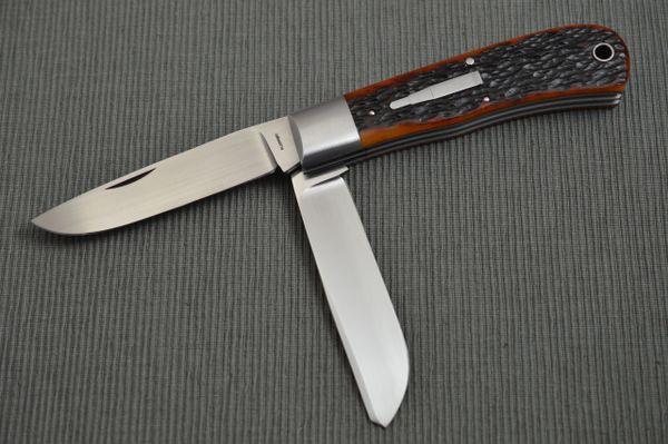 Tom Ploppert 2-Blade REMINGTON 1123 Bullet Knife, Slip-Joint Folder (SOLD)