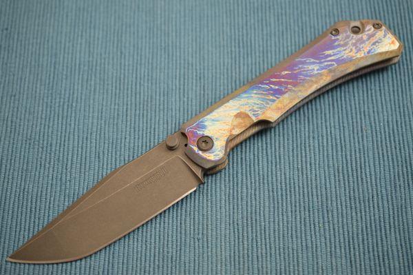 John Gonzalez Custom USAGI Dervish Knives Frame-Lock Folder