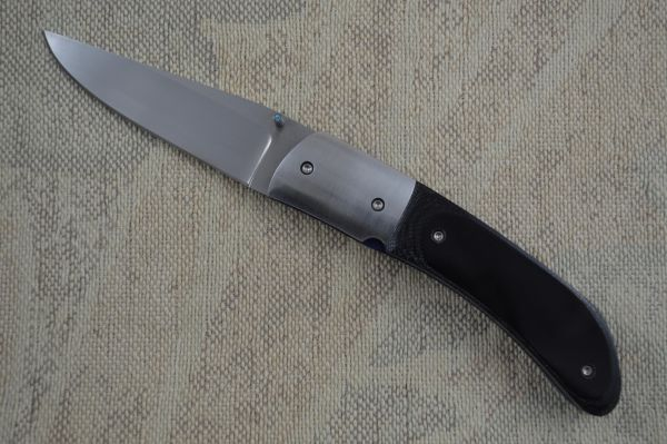 Mike Dilluvio Black G10 Liner Lock Folder