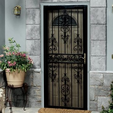 Steel Security Storm Door