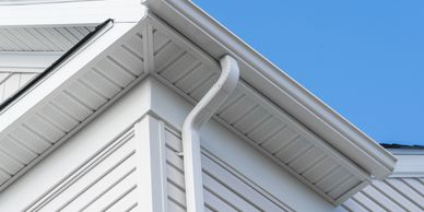 We install siding, gutters, soffit, and fascia and do repairs as well