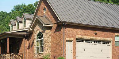 We are professional Shelbyville roofers who install standing seam metal roofs in the Louisville area