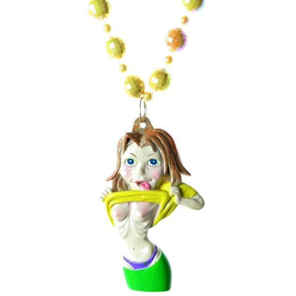 "33"" - Anorexic Jenny Necklace Beads"
