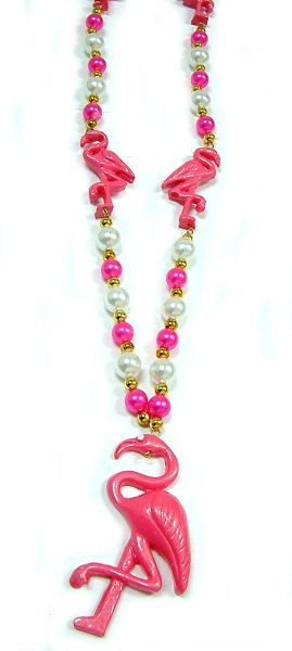 "42"" Flamingo Beads"