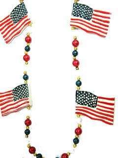 "42"" American Flag Beads"