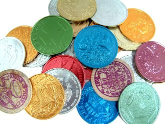 Parade Collectable Mardi-Gras Doubloon's 50 pcs.