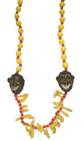 "42"" - Monkey and Banana Beads"