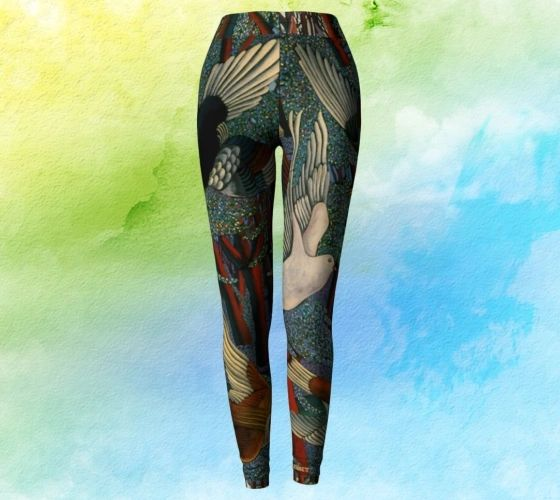 Forest Journey leggings