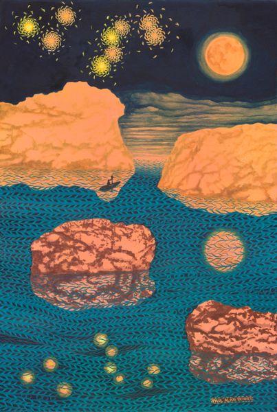 Kayaking under the Constellation of Leo