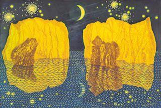 Waxing Moon under Gemini Skies