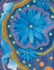 Blue Flower(card)