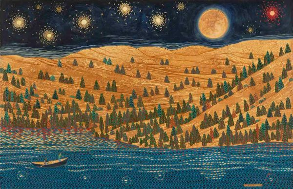 Stars over the Umpqua River