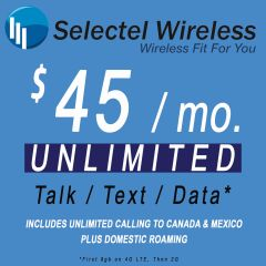 $45 Selectel Monthly Plan