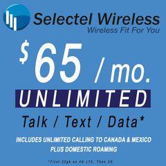 $65 Selectel Monthly Plan