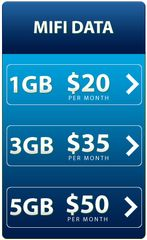 $50 Selectel 5GB Mifi Only Plan