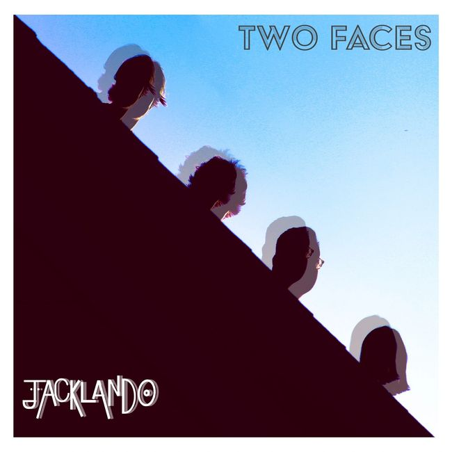 Jacklando cover art for EP, Two Faces