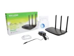 TP-LINK TL-WR940N Wireless N450 Home Router, 450 Mbps, 3 External Antennas, IP QoS, WPS Button