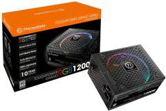 Thermaltake Toughpower Grand RGB 1200W 80+ Platinum Smart Zero RGB Fan, SLI/CrossFire Ready Continuous Power, Full Modular ATX 12V 2.4/EPS 12V 2.92 Power Supply 10 Year Warranty PS-TPG-1200F1FAPU-1