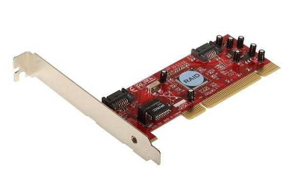 Manhattan 2-port SATA 150 RAID PCI Controller Card