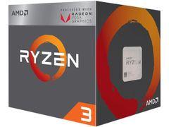 AMD RYZEN 3 2200G Quad-Core 3.5 GHz (3.7 GHz Turbo) Socket AM4 65W YD2200C5FBBOX Desktop Processor