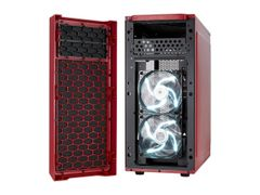 Fractal Design Focus G Mystic Red ATX Mid Tower Computer Case