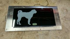 Low cost tempered glass animal scale