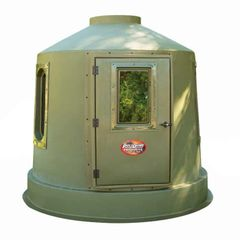 8′ One Piece Hunting Blind Olive Green – 92″ dia w/ 5 windows KIT