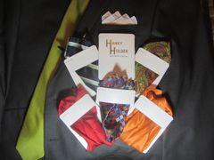 Hanky Holder (5 pack) (pocket silks not included)