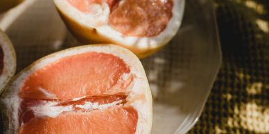 Grapefruit is a conceptual depiction of vaginal changes, including vaginal dryness and genitourinarysyndrome of menopause, associated with menopause, perimenopause and post-menopause.