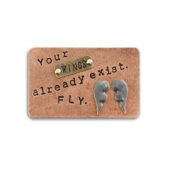 "Inspire Card ""Your wings already exist. FLY"""