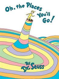 "Book ""Oh the Places You'll Go"""
