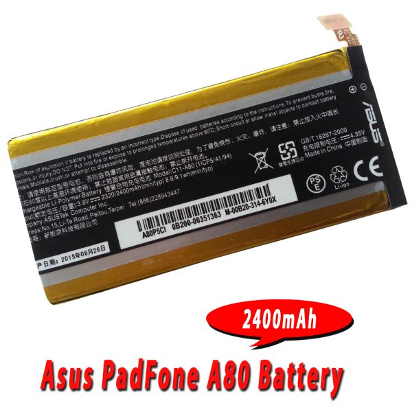 Asus PadFone Infinity A80 A86 Battery C11-A80 Capacity: 2400mAh