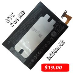 HTC One M8 2600mAh 3.8V Internal Battery B0P6B100 35H00214-00M